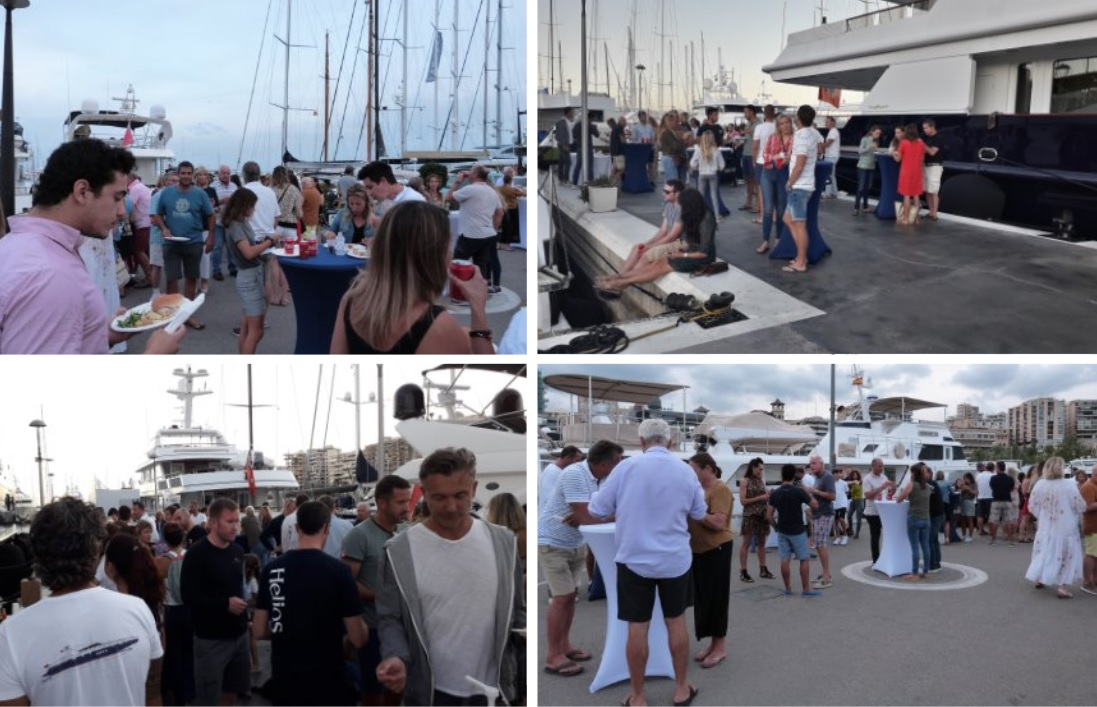 Marina Port de Mallorca and  Marina Palma Cuarentena bid farewell to the season with a barbecue for clients