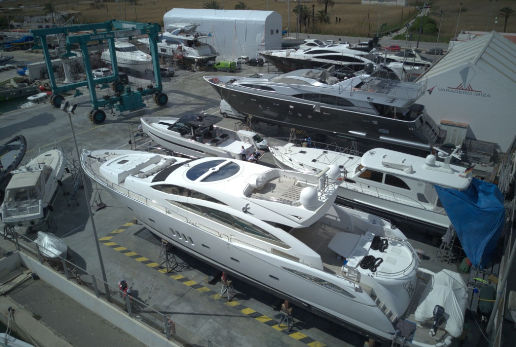 The perfect destination for the repair of yachts in Ibiza renews its quality and safety certifications