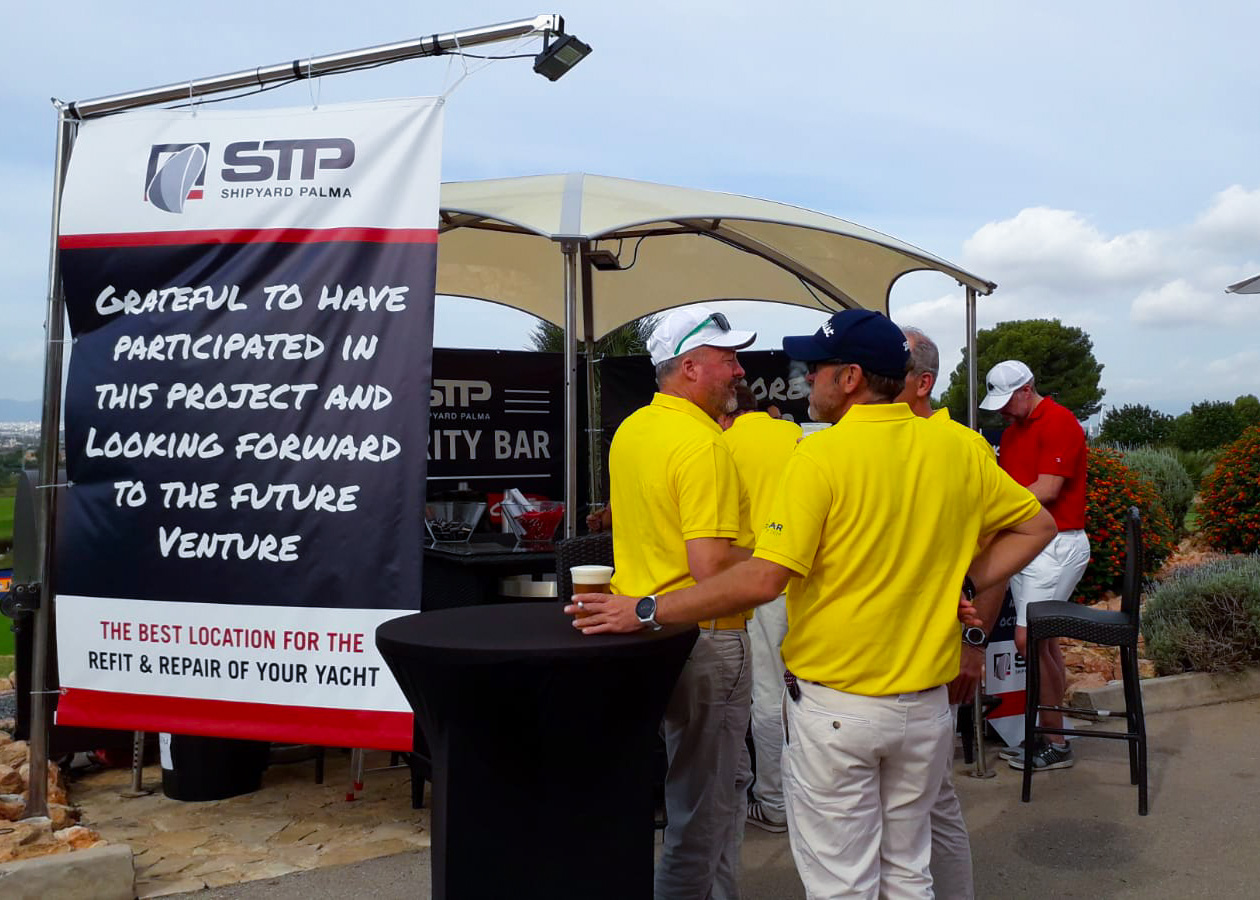 STP Shipyard Palma se despide del Pinmar Golf Tournament